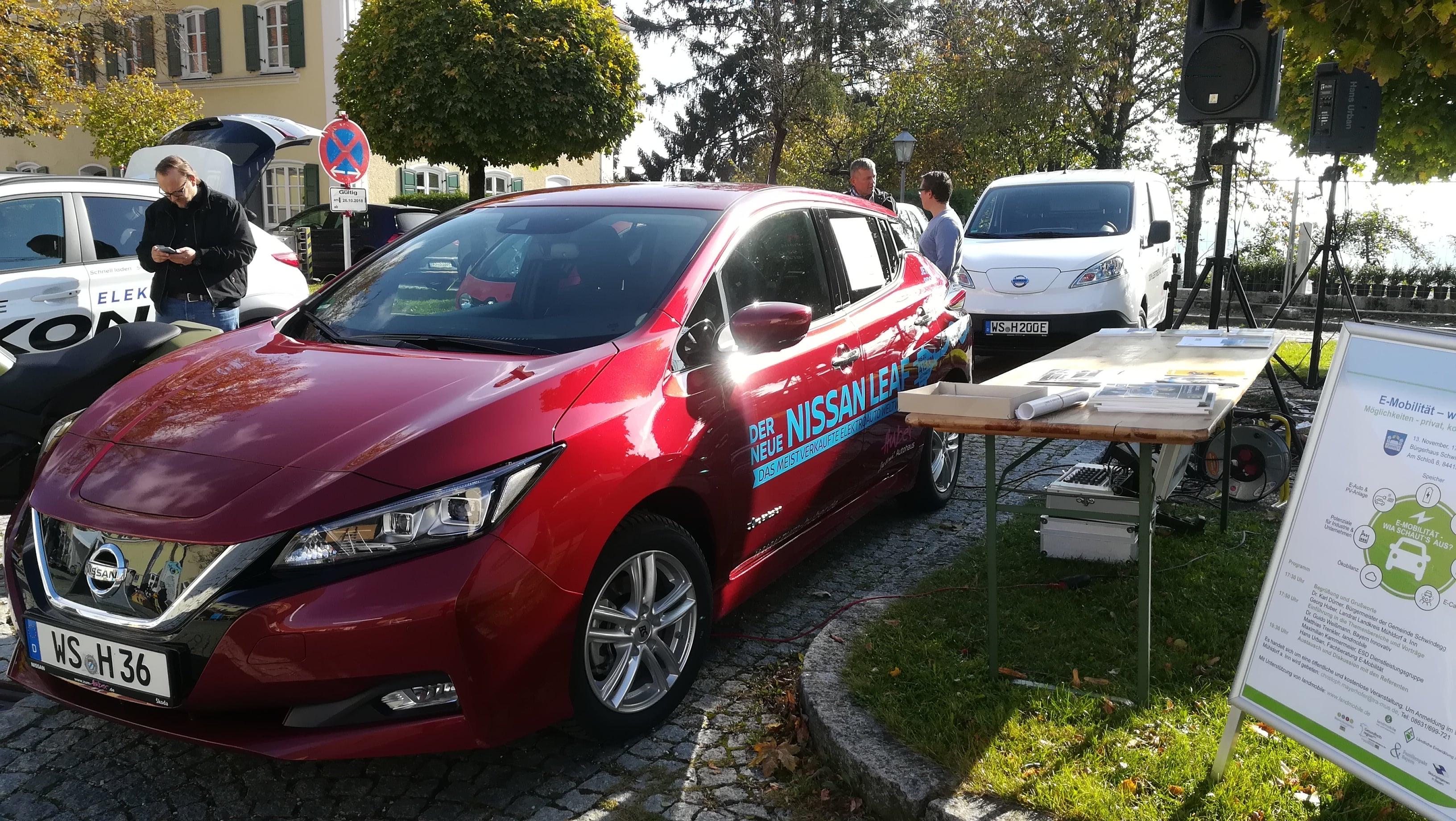 Energie- und Elektromobilitätstag 2018 in Haag