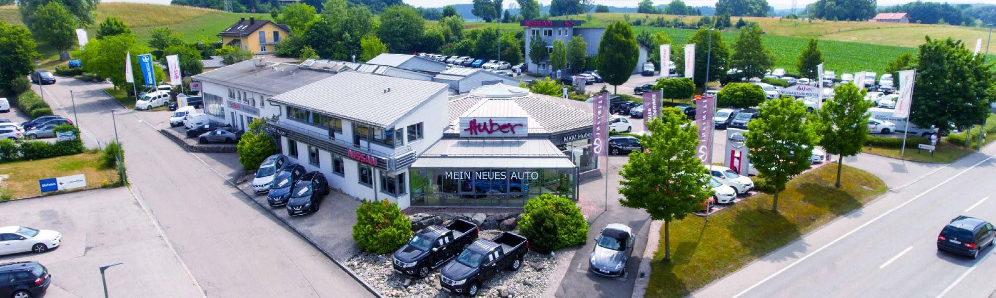 Autohaus MKM Huber Luftbild