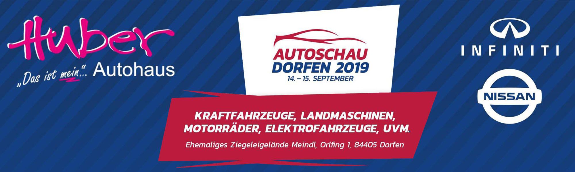 Autoschau Dorfen 14.-15. September 2019