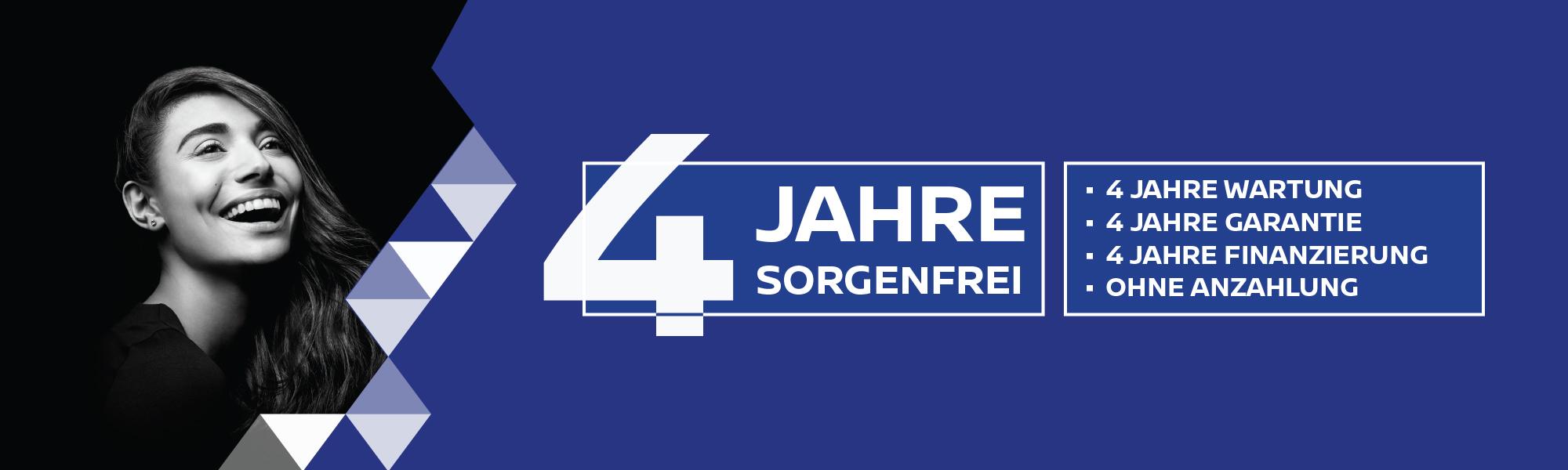 4 JAHRE SORGENFREI