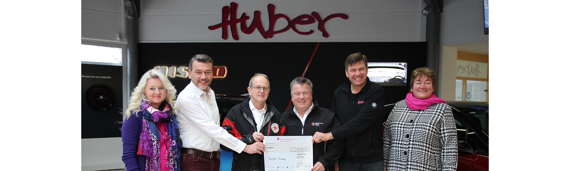 Spende Für Brk Autohaus Huber