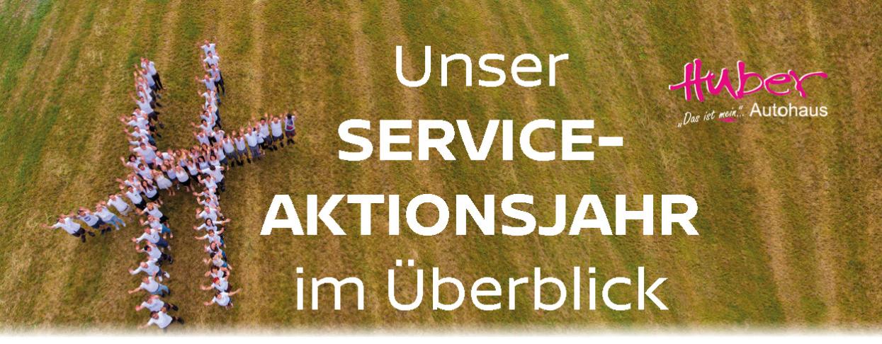 Service Aktionsjahr