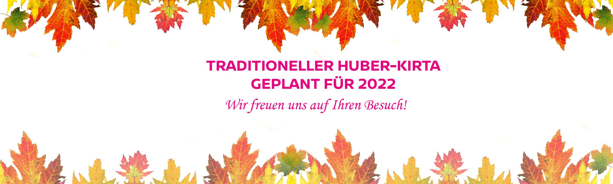 Huber Kirta 2022